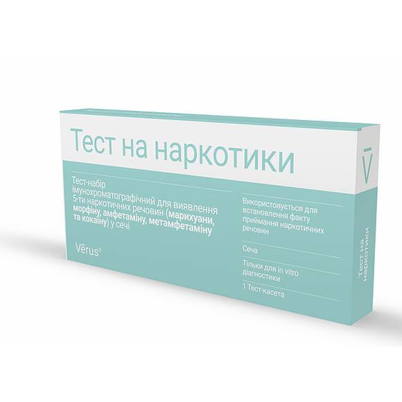 Тест на 6 наркотических веществ