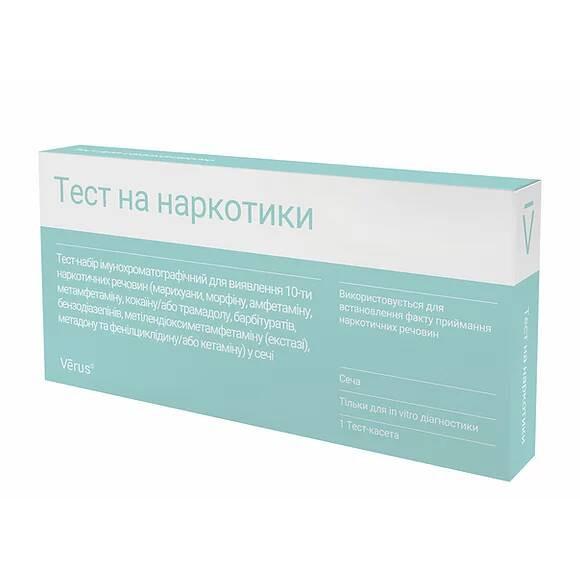 Тест на 10 наркотических веществ