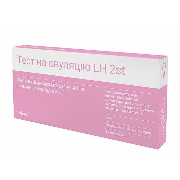 Тест на овуляцію LH 2st (2 смужки)